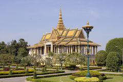Phnom Penh Royal palace Stock Photography