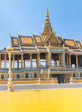 Phnom Penh Royal Palace Fotografia Stock