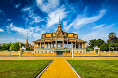Phnom Penh Royal Palace complex Royalty Free Stock Image