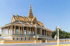 Phnom Penh Royal Palace Royalty Free Stock Photo