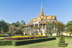 Phnom Penh Royal Palace Royalty Free Stock Images
