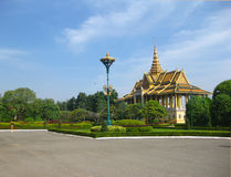 Phnom Penh Silver Pagoda Stock Photo