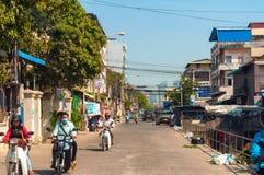 Phnom Penh street Stock Photo