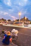 Phnom Penh street vendor Stock Image