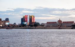 Phnom Penh Sunset Cruise in Cambodia Stock Images
