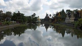Phnom Penh tempel Arkivbild