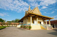 Phnom Penh temple, Cambodia Royalty Free Stock Photo