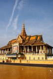 Phnom Penh Temple Complex 2 Royalty Free Stock Images