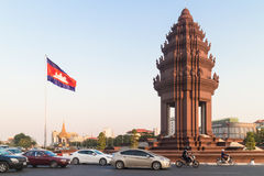 Phnom Penh traffic Royalty Free Stock Photo