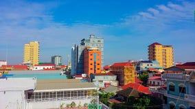 Phnom- Penhstadtskyline, Kambodscha Stockfotos