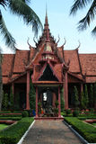 Phnom penn national museum Royalty Free Stock Images