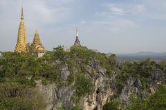 Phnom Sampeau świątynia Battambang, Kambodża Obrazy Royalty Free