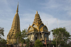 Phnom Sampeau tempel Battambang Cambodja Royaltyfria Foton