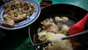 Pho好食物面条 库存图片
