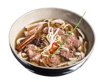 Pho bo noodle soup Royalty Free Stock Image