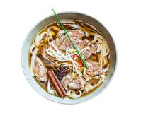 Pho bo noodle soup Stock Photography