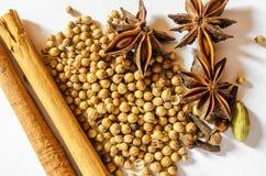 Pho Bo Soup Spices Stock Photos