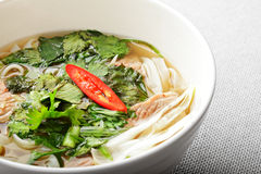 Pho bo soup Royalty Free Stock Image