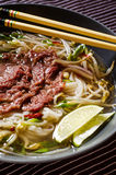 Pho Bo soup Royalty Free Stock Photos