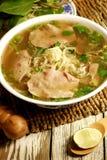 Pho do alimento de Vietnames Imagens de Stock
