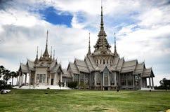 Pho för tempelMaha Wihan luang tå Arkivfoto