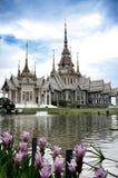 Pho för tempelMaha Wihan luang tå Arkivfoton