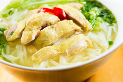 Pho ga, chicken noodle soup Royalty Free Stock Photography