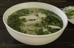 Pho Ga Vietnamese Chicken Soup Stock Images