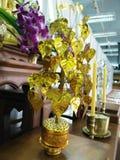 Pho-goldener Baum stockbilder