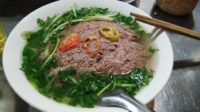 Pho, ha de comida tradicional del Noi, comida de Vietnam Imágenes de archivo libres de regalías