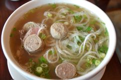 Pho with Meatballs