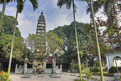 The Pho Minh Tower, built in 1262 in Namdinh, Vietnam. royalty free stock photography