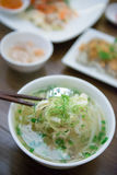 Pho noodle soup is local food in Vietnam Royalty Free Stock Image