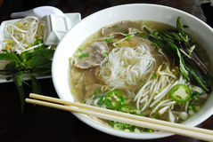 Pho noodles Royalty Free Stock Photo