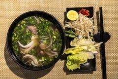 Pho, A Popular Vietnamese Beef Noodle Soup