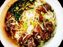 Pho Suppe stockbild