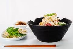 Pho - Vietnamese Rare Beef noodle soup Stock Image