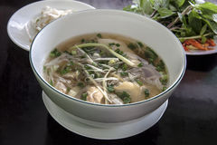 Pho Vietnamese Rice Noodle Soup. Stock Photography