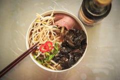 Pho - vietnamesisk soppa Arkivbilder