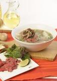 Pho vietnamiano do alimento imagens de stock