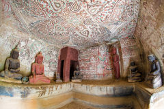 Pho Win Taung Caves Stock Images