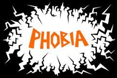phobia ilustração stock