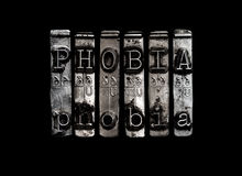 Phobia concept Stock Image