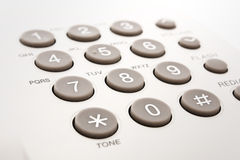 Phoe keypad Royalty Free Stock Photos