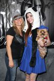 Phoebe Price. Brandi Passante, Phoebe Price  at the Grand Opening of Storage Wars Jarrod Schulz and Brandi Passante's new Now and Then Secondhand Store, Orange Royalty Free Stock Photography
