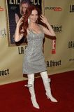 Phoebe Price. At the Remember To Give Holiday Party hosted by L.A. Direct Magazine, E! Network and Ronald McDonald Charities. Les Deux, Hollywood, CA. 12-13-07 stock image