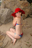 Phoebe Price. Photo shoot at Malibu Beach, Malibu, CA 05-12-08 Stock Photo