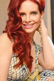 Phoebe Price. On a photo shoot for Kaje Boutique's Roberto Cavalli Collection as part of the Pro7 German Television Show, Private Location, Hollywood, CA 02-14 Royalty Free Stock Photo