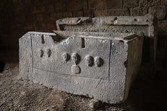 Phoenician Sarcophagus, Lebanon Stock Image