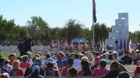 """Phoenix, †""""11/11/2017 de AZ/EUA: Orador da cerimônia do dia de veteranos"""